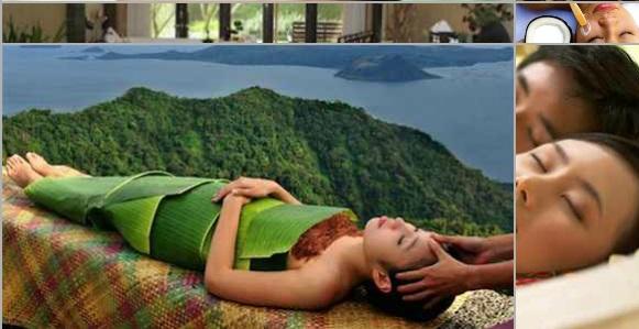 Indonesian spa