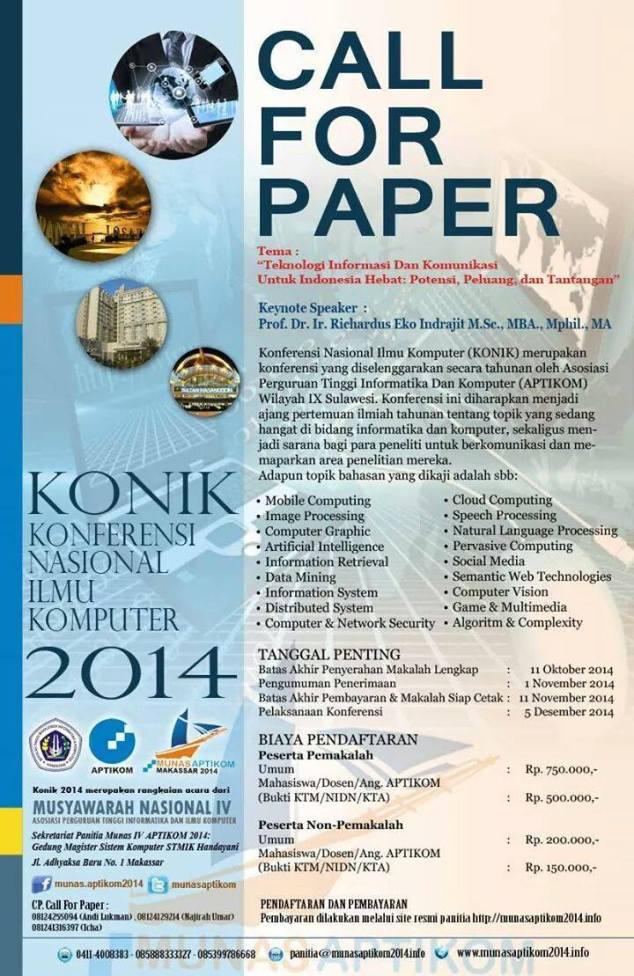 call for paper makassar